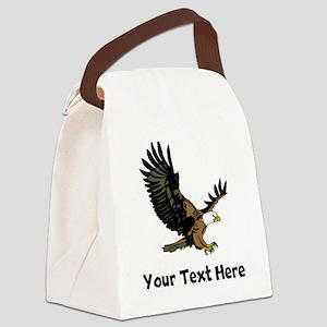 Bald Eagle (Custom) Canvas Lunch Bag
