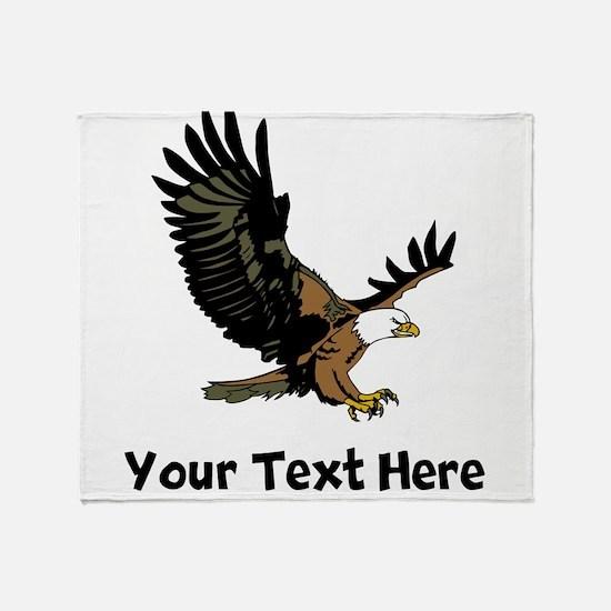 Bald Eagle (Custom) Throw Blanket