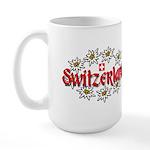 Swiss Edelweiss Large Mug