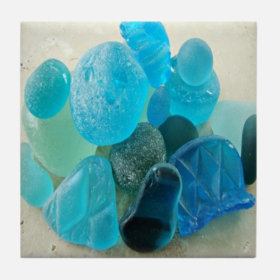 Sea Glass * Tile Coaster