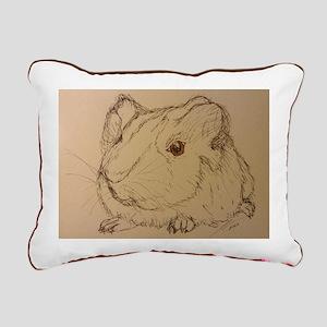 Guinea Pig Rectangular Canvas Pillow