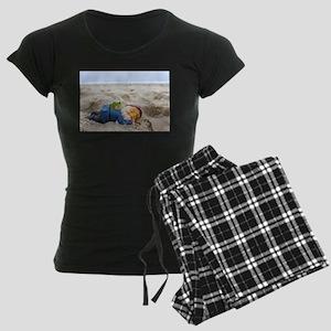 Napping Gnome Women's Dark Pajamas