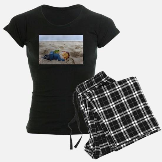 Napping Gnome Pajamas