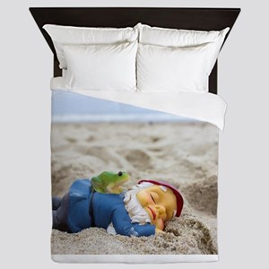 Napping Gnome Queen Duvet