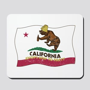 California Knows How to Party Mousepad