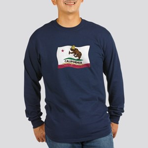 California Knows How to Party Long Sleeve Dark T-S