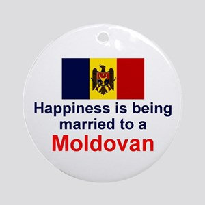 Moldovan-Married Keepsake Ornament