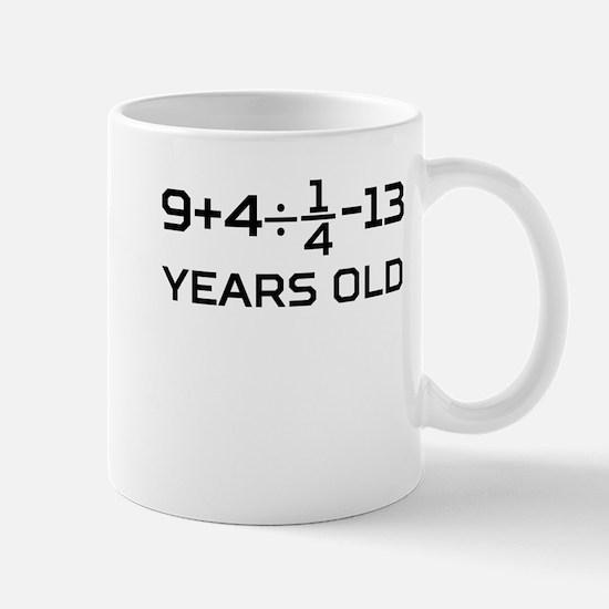 12th Birthday Algebra Equation Mugs