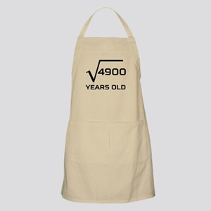 Square Root 70 Years Old Apron