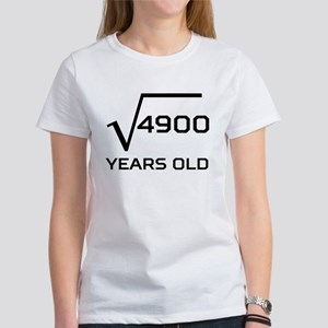 Square Root 70 Years Old T-Shirt