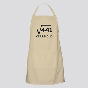 Square Root 21 Years Old Apron