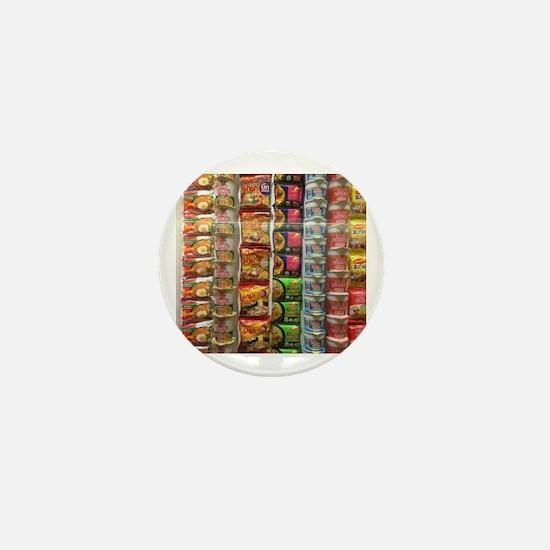 Unique Noodles Mini Button