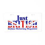 Just British Online Aluminum License Plate