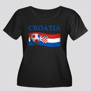 TEAM CROATIA WORLD CUP Women's Plus Size Scoop Nec