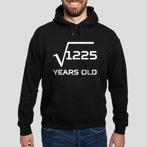 Square Root 35 Years Old Hoodie