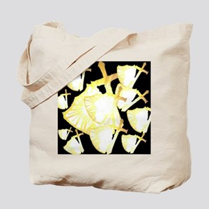 Protection in Darkness Tote Bag