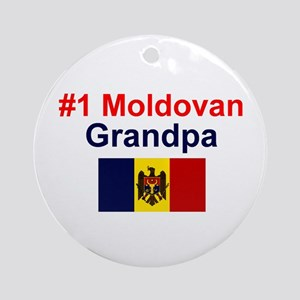 Moldovan Grandpa Keepsake Ornament