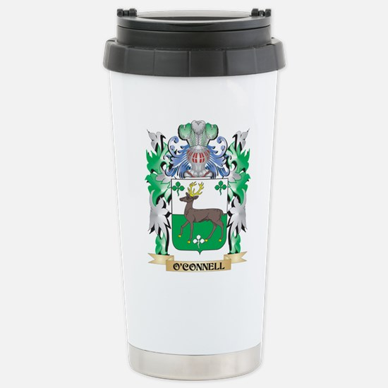 O'Connell Coat of Arms Stainless Steel Travel Mug