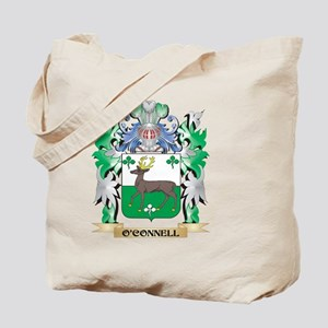 O'Connell Coat of Arms - Family Crest Tote Bag
