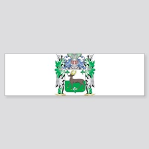 O'Connell Coat of Arms - Family Cre Bumper Sticker