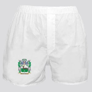 O'Connell Coat of Arms - Family Crest Boxer Shorts