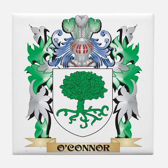 O'Connor Coat of Arms - Family Crest Tile Coaster