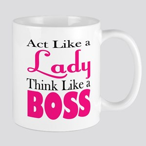 think like a boss Mugs