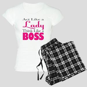think like a boss Pajamas