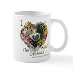I Heart Florida's Wild Orchids Mugs