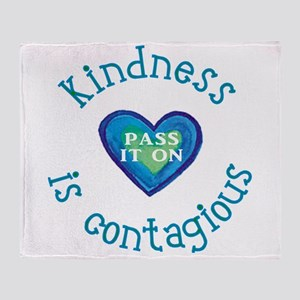 Kindness--Pass it On Throw Blanket