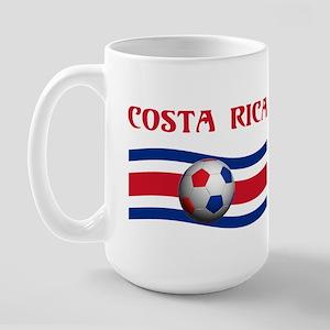 TEAM COSTA RICA WORLD CUP Large Mug
