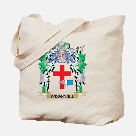 O'Donnell Coat of Arms - Family Crest Tote Bag