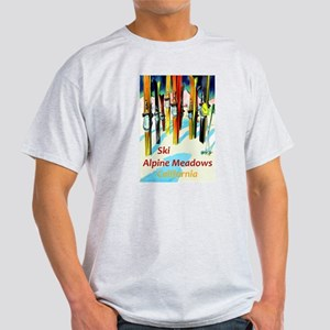 Ski Alpine Meadows California Travel T-Shirt