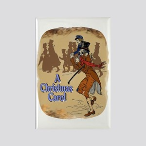 Tiny Tim and Bob Cratchit Rectangle Magnet