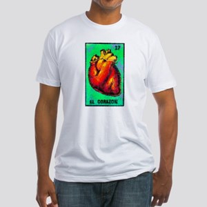 El Corazon Fitted T-Shirt
