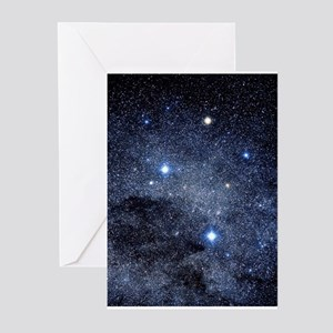 The constellation of the Southern Cr Greeting Card
