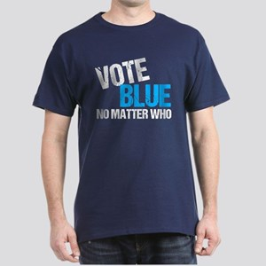 Vote Blue Democrat Dark T-Shirt