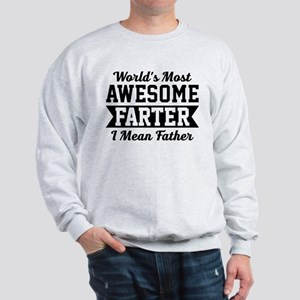 Awesome Farter Funny Dad Sweatshirt
