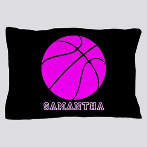 Pink Basketball Girls Pillow Case