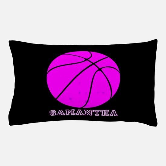 Pink Basketball Girls Pillow Case