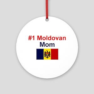 Moldovan #1 Mom Keepsake Ornament