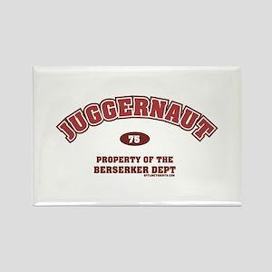 Juggernaut Rectangle Magnet