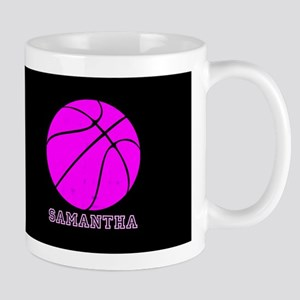Pink Basketball Girls Mugs