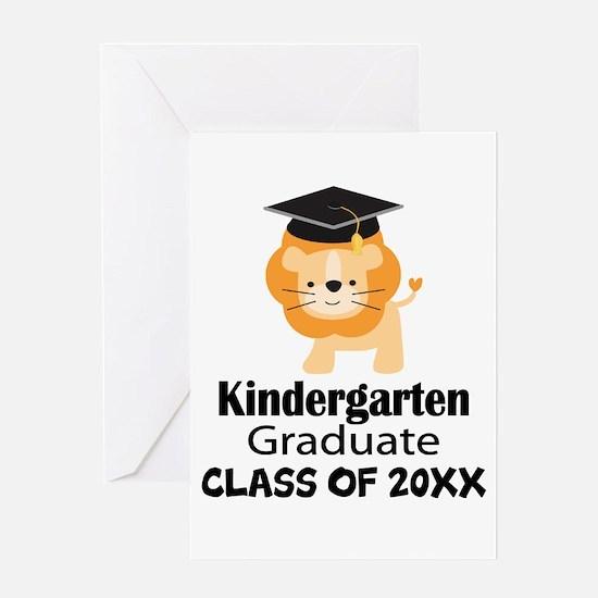 Personalized Kindergarten Graduate Greeting Cards