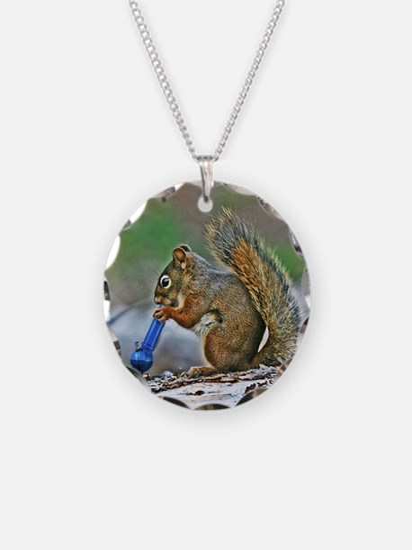 Unique Squirrel funny Necklace