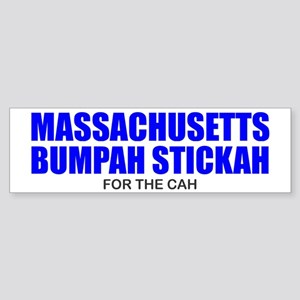 Bumpah Stickah for the Cah Bumper Sticker