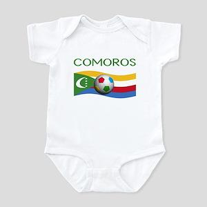 TEAM COMOROS WORLD CUP Infant Bodysuit