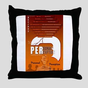Personal Perception Throw Pillow