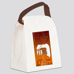 Personal Perception Canvas Lunch Bag