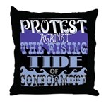 Protest Throw Pillow
